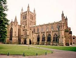 Hereford Cathedral, Hereford, Herefordshire