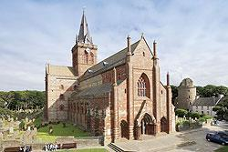 St Magnus Cathedral, Kirkwall, Orkneys
