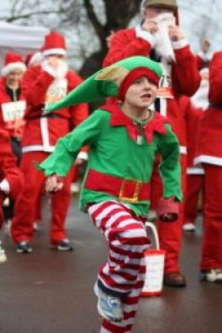BHF Santa Jog – Reading