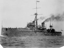 HMS Vanguard Lost with 843 Men