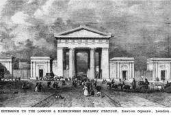 Euston opens as 1st London Station