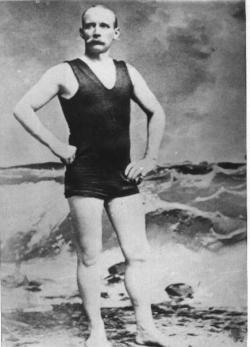 Webb First Man to Swim the Channel