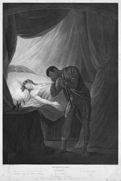 First Known Performance of Othello