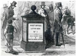 First Post Office Pillar Box