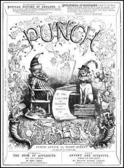 Punch Invents the Cartoon