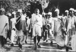 Salt March Ends
