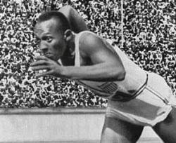 Jesse Owens Wins Olympic Gold