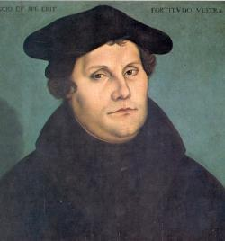 Luther Posts His 95 Theses