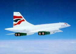 Concorde Flies for first time