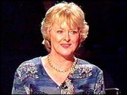 Judith Keppel Who wants to be a Millionaire Winner