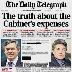 Telegraph Begins Publishing MP Expenses