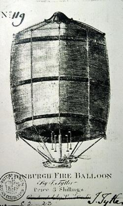 First British Balloon Ascent