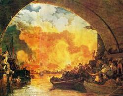 Great Fire of London begins