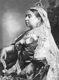 Queen Victoria crowned