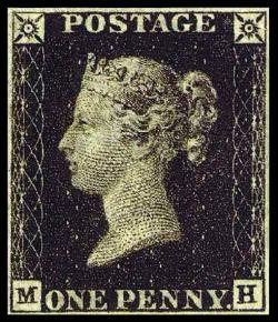 Postal service (penny post) begins in Britain