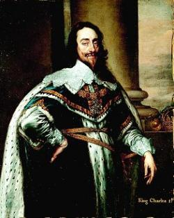 Charles I arrests parliamentarians and starts civil war