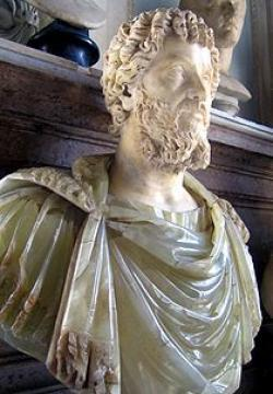 Roman emperor Septimius Severus dies at York