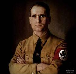 Rudolf Hess lands in Scotland