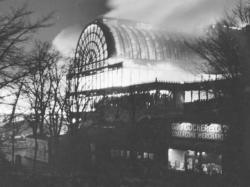 Crystal Palace destroyed by fire