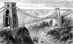 Opening of the Clifton Suspension Bridge