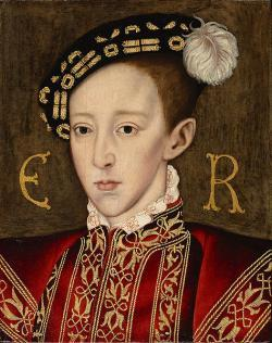 Edward VI succeeds to throne