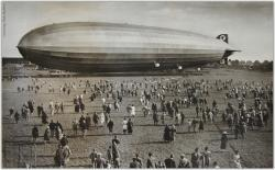 1st British town hit by a Zeppelin raid
