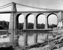 Opening of Menai Bridge