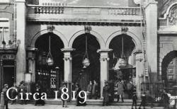 Opening of the Burlington Arcade