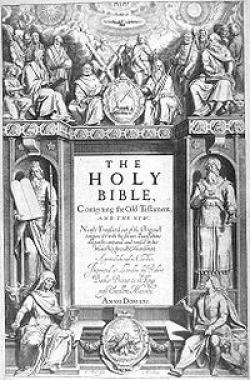 1st publication of The new King James bible