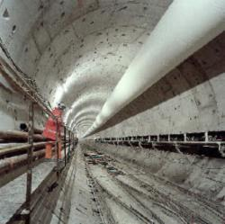 The Channel Tunnel opens