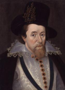 James VI of Scotland  crowned James I of England.