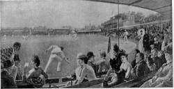 1st Cricket match between Eton & Harrow Schools