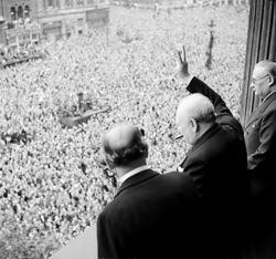 Nazi Germany surrenders - VE Day