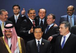 1st G20 Summit held