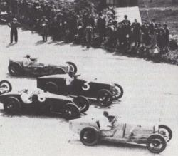 Britains 1st Grand Prix is held at Brooklands