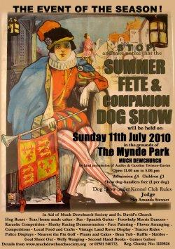 Summer Fete & Dog Show