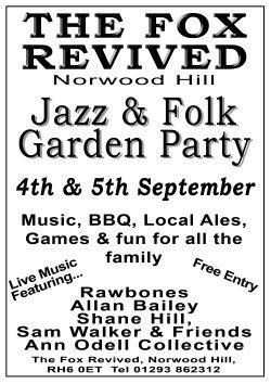 Jazz & Folk Garden Party