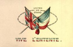 The 'Entente Cordiale' is signed by Britain and France