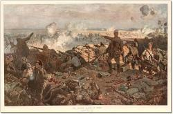 The Worcesters Charge at Ypres