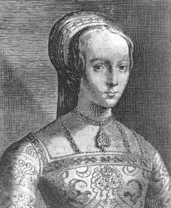 Lady Jane Grey  proclaimed Queen of England