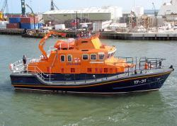 First Lifeboat launched