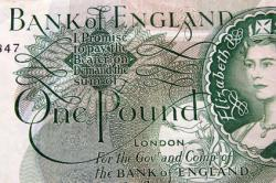 First £1 Note Issued