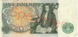 Pound Note Withdrawn from Circulation