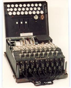 Enigma Machine Captured