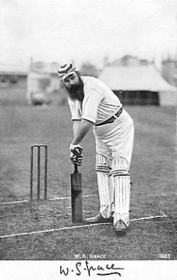 W.G. Grace Scores his Hundredth Hundred